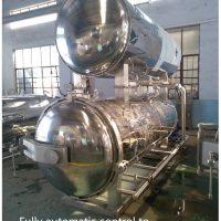 Water immersion retort machine